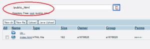 Administrasi File Website